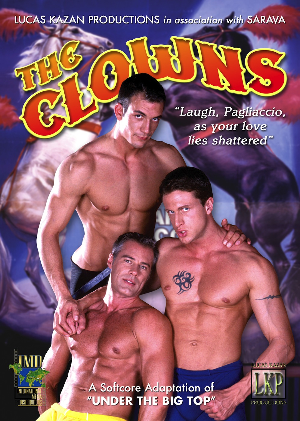 The Clowns DVD Front flat copy